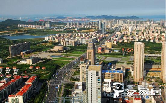 图为山东青岛西海岸经济新区.